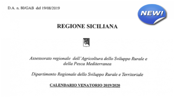 Calendario Venatorio Sicilia 2020.Anuumigratoristi